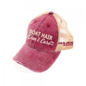 Boat Hair Don't Care Pony Tail Cap