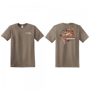 Majek Boats Redfish Tee - Tan