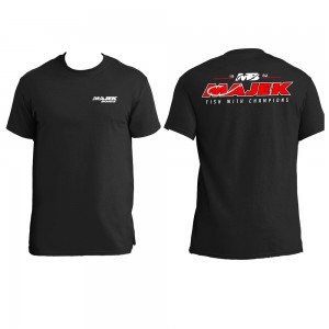 Fish with Champions T-Shirt - Black