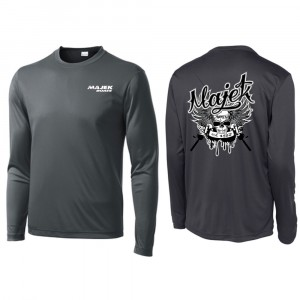 CLOSEOUT - Pirate Long Sleeve Dri-Fit T-Shirt