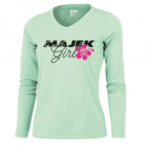 Majek Girl Long Sleeve Dri-Fit T-Shirt (NEW DESIGN)