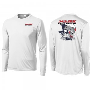 Texas Trout Long Sleeve Dri-Fit Tee